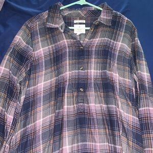AE Flannel Tunic